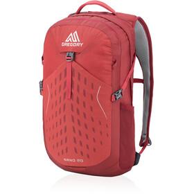 Gregory Nano 20 Plecak czerwony